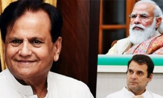 Senior Congress leader Ahmed Patel passes away; Modi, Rahul condole