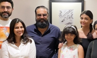 Pic Talk! Aishwarya Rai with Sarathkumar, Varalaxmi