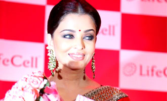 Aishwarya Rai Bachchan at Launching Lifecell
