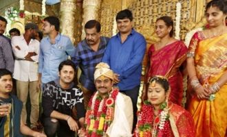 Celebs @ RX 100 Director Ajay Bhupathi Wedding