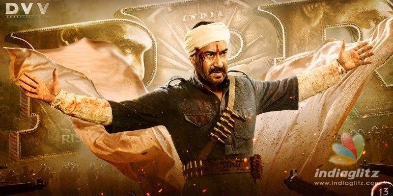 Ajay Devgn looks riveting in RRR motion poster!