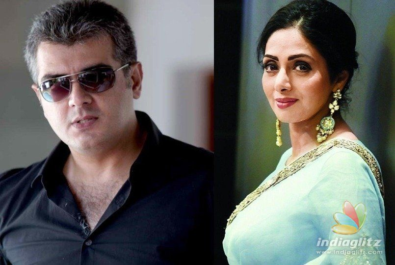 Ajith is fulfilling old promise to Sridevi