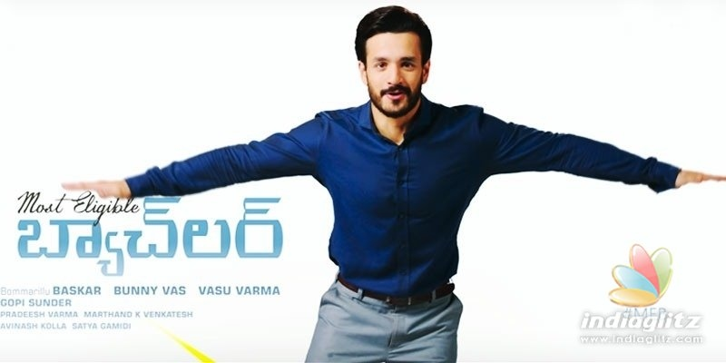 Akhil looks endearing in pre-teaser of Most Eligible Bachelor