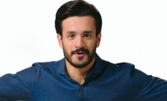 Akhil looks endearing in pre-teaser of 'Most Eligible Bachelor'