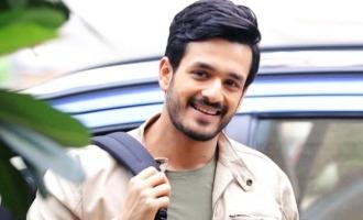 Akhil has got a cute message for 'KGF' star Yash's 'Sisindri'