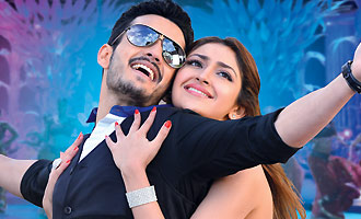 Akhil first day collections