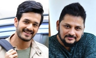Here is the title of Akhil-Surender Reddy's movie