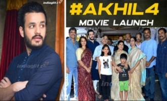 Akhil 4 Movie Launch