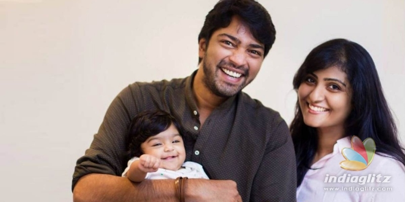 Wife has an adorable message about Allari Naresh