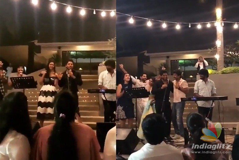 Bunny, Nani sing & dance with their wives