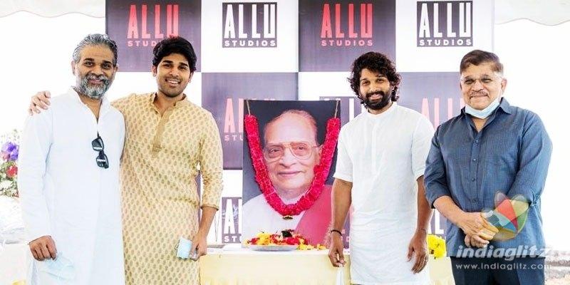 Allu Aravind, Allu Arjun announce the setting up of Allu Studios