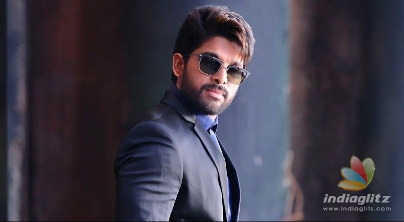 Allu Arjun as Icon in Dil Rajus production
