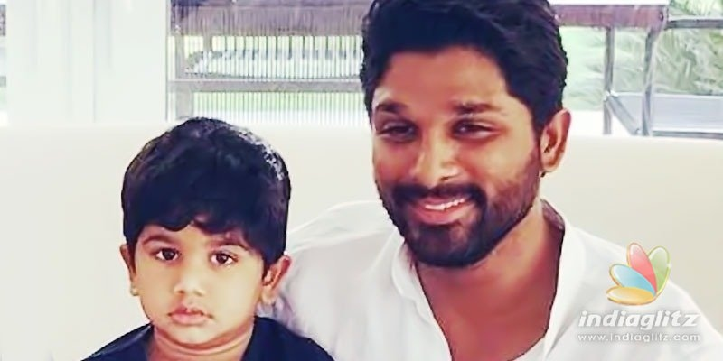Ayaan makes Allu Arjun proud