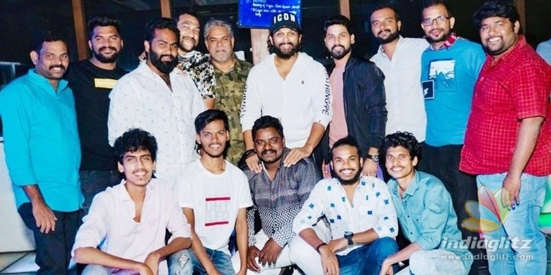 Pic Talk: Allu Arjun hosts bachelor party for employee