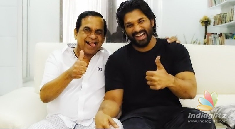 Pic Of The Day: Allu Arjuns thumbs-up moment with actor