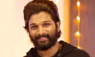 Allu Arjun was emotional to meet his Daughter and Son after 15 Days Quarantine
