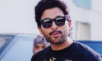 First thing Allu Arjun does on set