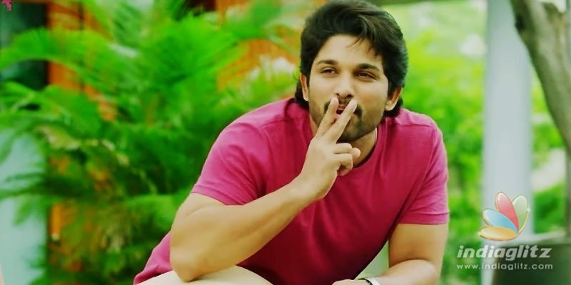 Allu Arjun shoots Arjun Reddy-2, only to be censored