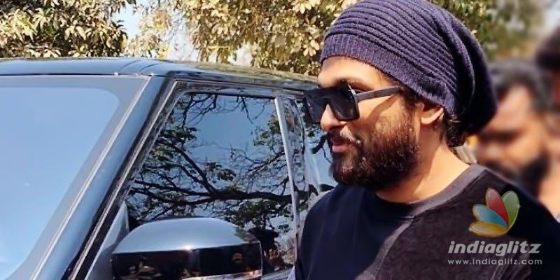 Allu Arjun's massive avatar to play lorry driver