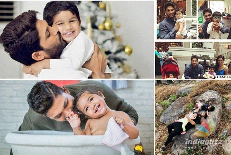 Bunny's benchmark for best dad is big - Telugu News - IndiaGlitz com