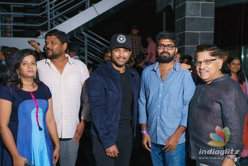 Allu Arjun encourages one more film