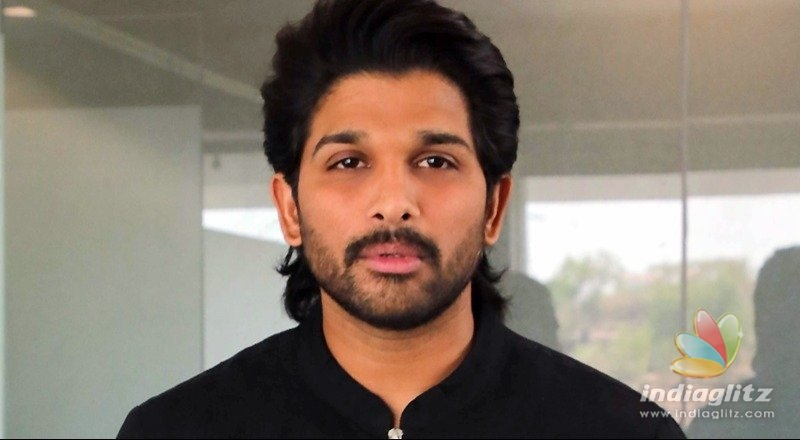 Jersey is rocking: Allu Arjun