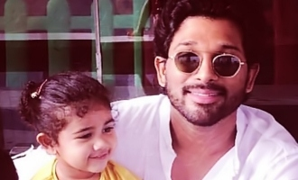 Allu Arjun's 'Fasak' moment with Arhaa