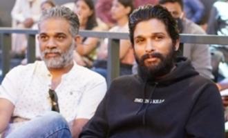 Allu Arjun gets into wishing mode on visiting 'Ghani' sets