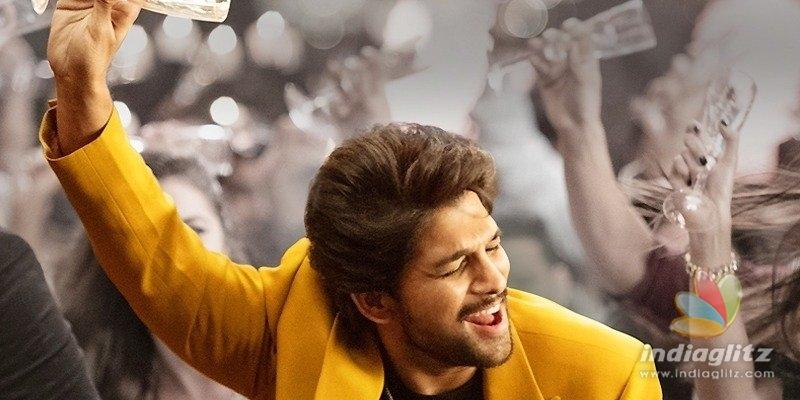 Allu Arjuns films song postponed