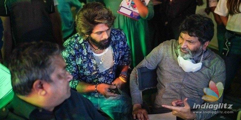 Pic Talk: Allu Arjun shoots with Trivikram Srinivas