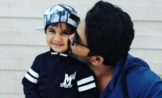 Allu Arjun pens a 'love letter' to beloved son!