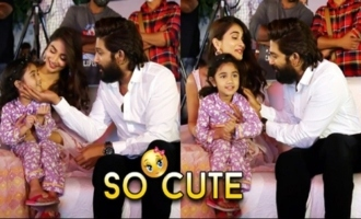 Allu Arjun Daughter Arha Cutest Moments