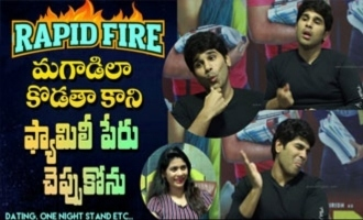 Rapid Fire - Allu Sirish on dating an actress