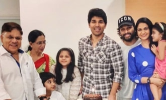 Pic Talk: Allu Arjun's family pic on Sirish's birthday