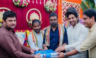 Allu Arjun And Sukumar's New Movie Launch