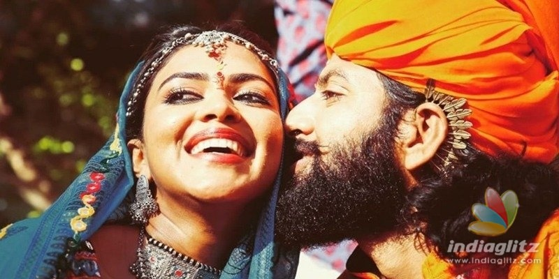 Amala Pauls wedding pics with singer out!