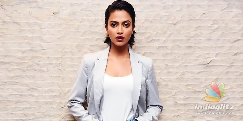 Amala Paul treks a mountain to experience life