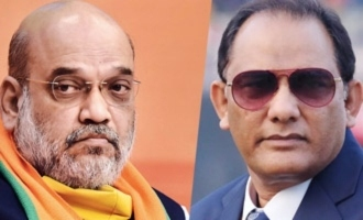 Meet with Amit Shah for revival of probe into Azharuddin's match-fixing