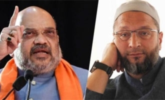 Amit Shah challenges Owaisi on illegal immigrants