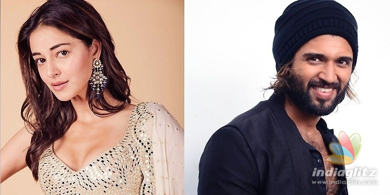 Official: Ananya Pandey to romance Vijay Deverakonda