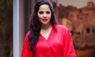 Anasuya Bharadwaj throws a hint about 'Pushpa'