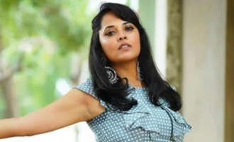 Anasuya Bharadwaj criticizes veteran artist over remarks