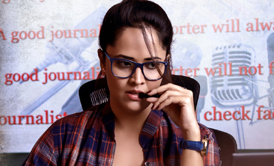 Anasuya's role in 'Gayatri' is strongly-etched