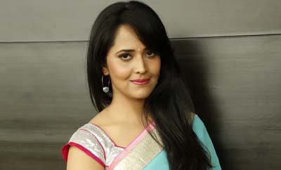 Anasuya defends show over offensive comedy