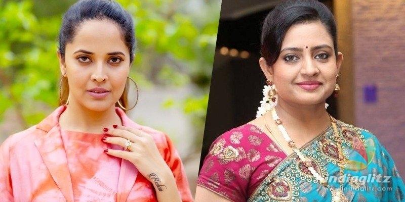 Anasuya Bharadwaj to replace Indraja in road film?