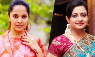 Anasuya Bharadwaj to replace Indraja in road film?