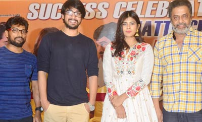 'Andhhagadu' Success Meet