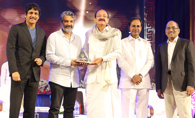 ANR National Award 2017 Presented To SS Rajamouli