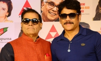 Nagarjuna Press Meet About ANR Awards
