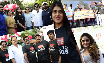 Celebs @ Anti Drug Walk